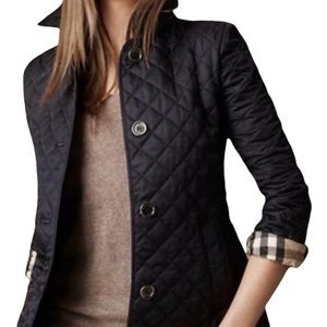 Burberry Brit Quilted Jacket Black